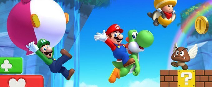 Volviendo a New Super Mario Bros U