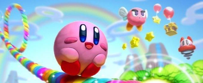 Kirby y el Pincel Arcoíris