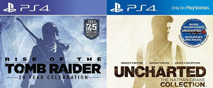 Naughty Dog bromea con las portadas de Rise of the Tomb Raider y Uncharted