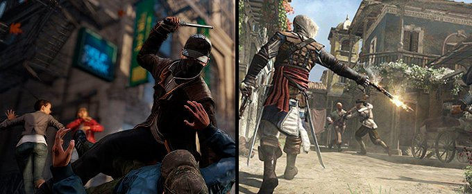 Watch Dogs vs. Assassin's Creed IV Black Flag