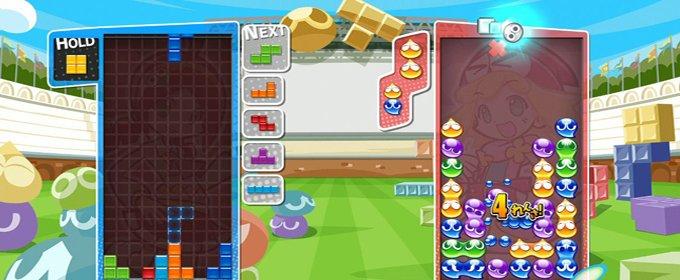 how to play puyo puyo vs